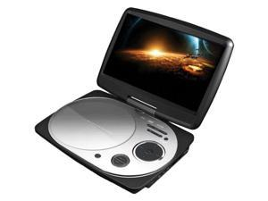 "Impecca - Impecca 9"" Portable Swivel Dvd Player/Usb (White)"