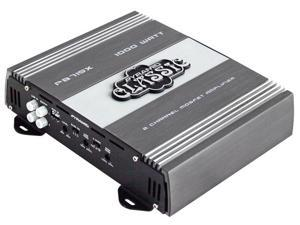 1000 Watts 2 Channel Bridgeable Car Amplifier
