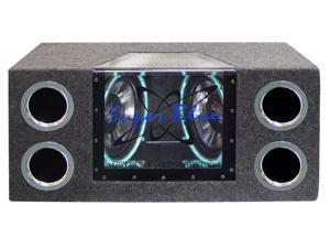 Pyramid - Dual 10'' 1000 Watt Bandpass Speaker System w/Neon Accent Lighting