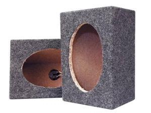 Pyramid - Empty Carpeted 6'' x 9'' Speaker Cabinet