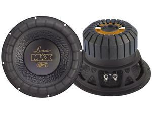 Lanzar - Max 10'' 800 Watt Small Enclosure Dual 4 Ohm Subwoofer
