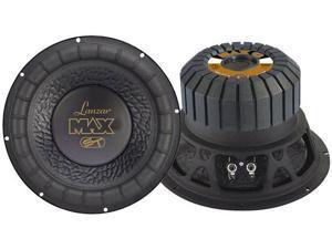 Lanzar - Max 12'' 1000 Watt Small Enclosure 4 Ohm Subwoofer