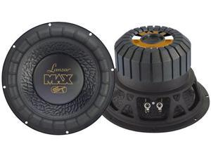 Lanzar - Max 8'' 600 Watt Small Enclosure 4 Ohm Subwoofer