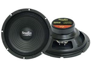 Pyramid - 8'' 200 Watt High Power Paper Cone 8 Ohm Subwoofer
