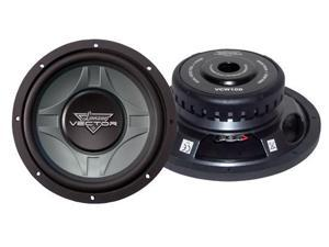 Lanzar - Vector 10'' Dual 4 Ohm Shallow Subwoofer