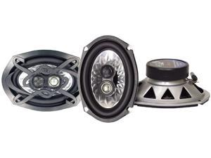 Lanzar - Heritage 6''x 9'' Three-Way Triaxial Speakers