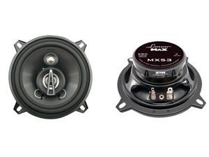 Lanzar - 5.25'' 140 Watts 3 Way Triaxial Speakers