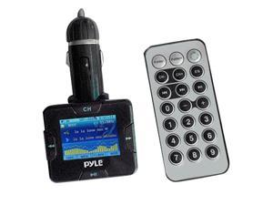 Pyle - Plug In Car  MP3/USB/SD/MMC/MP4/Ipod FM Modulator/Transmitter w/USB Charging Port and Remote