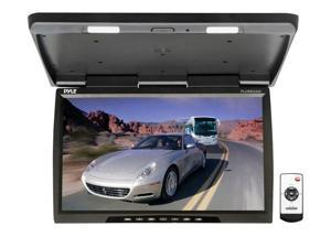 Pyle - 25'' Wide Screen TFT-LCD Roof Mount Video Monitor w/IR Transmitter