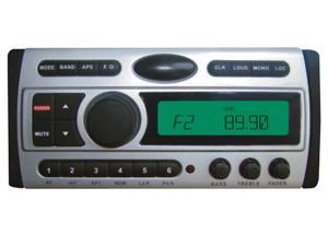Pyle - 1.5-Din AM/FM Receiver / CD/DVD/MP3/AM-FM Marine Grade Player