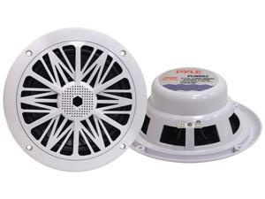 Pyle - 200 Watts 6.5'' 2 Way White Marine Speakers