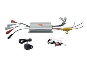 Pyle - 4 Channel Waterproof MP3/ Ipod Marine Power Amplifier