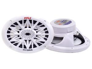 Pyle - 260 Watts 6'' x 9'' 2 Way White Marine Speakers