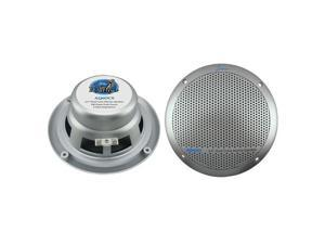 Lanzar - 360 Watts 6.5'' Dual Cone Marine Speakers (Silver Color)