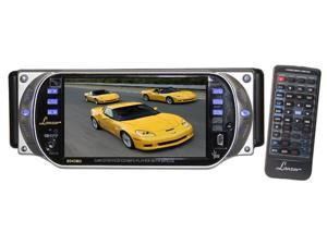 Lanzar - Street Vision Series 4.3'' TFT Monitor w/ DVD/ VCD/ MP3/ CD Player & AM/ FM Radio (Refurbished)