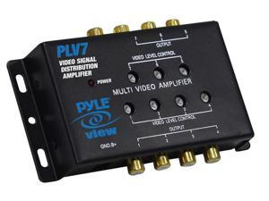 Pyle - 1 Into 7 Mobile Video Signal Distribution Amplifier