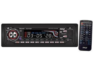 Pyle - In-Dash AM-FM DVD/CD/MP3 Player and Detachable Face & USB/SD Port Bluetooth Capability (Refurbished)