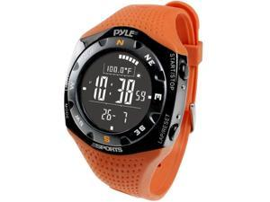 Pyle - Ski Master V Professional Ski Watch w/ Max. 20 Ski Logbook, Weather Forecast, Altimeter, Barometer, Digital Compass,Thermometer ...