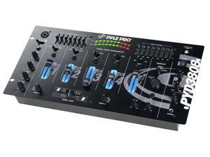 PylePro - 19'' Rack Mount 4 Channel Professional Mixer with Digital Sampler (Refurbished)