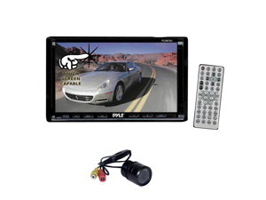Pyle - Pyle DVD/Camera Package for Car/Truck/SUV -- PLDN70U+ PLCM22IR