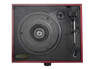 PylePro - Retro Style Turntable With USB-to-PC