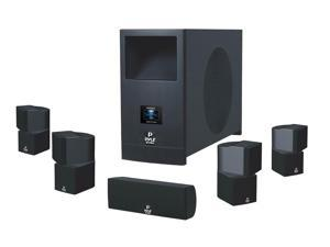 Pyle - 5.1 Home Theater System With Active Subwoofer and Five Satellite Speakers