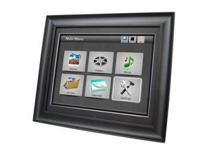 Impecca - Impecca 17-Inch Digital Photo Frame with 4GB Internal Memory Stores 16,000 Photos and Full Function Remote Control ...