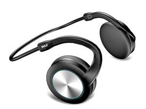 Pyle - Flexible Sports Wrap Around Bluetooth Headphone- Supports Wireless Music Streaming and Hands-Free Calling