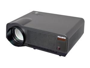 PylePro - High-Definition Widescreen Projector with Up To 120-Inch Viewing Screen, Built-In Speakers, USB Flash Reader & Accepts 1080p Signal