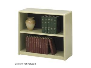 "Safco 7170SA 2-Shelf ValueMate® Economy Bookcase 31 3/4""w x 13 1/2""d x 28""h Sand - OEM"
