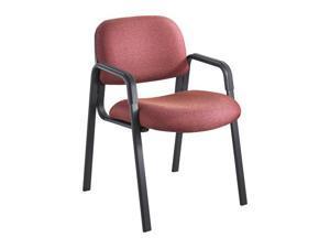 "Safco 7046BG Cava Urth™ Straight Leg Guest Chair 22 1/2""w x 24""d x 32 1/2""h Burgundy - OEM"