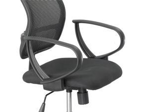 "Safco 3396BL Loop Arms for Vue™ Mesh Extended-Height Chair 8""h x 13""d x 2""w Black - OEM"