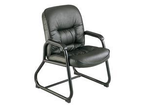 "Safco 3473BL Serenity™ Guest Chair 24 1/2""w x 26""d x 38""h Black - OEM"