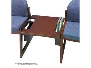 "Safco 7966MH Urbane® Straight Connecting Table 21""w x 21""d x 17""h Mahogany - OEM"