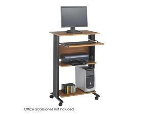 "Safco 1923MO Muv™ Stand-up Workstation 29 1/2""w x 22""d x 45""h Medium Oak - OEM"