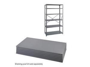 "Safco 6254 36 x 24 Industrial 6 Shelf Pack 36""w x 24""d x 85""h Gray - OEM"