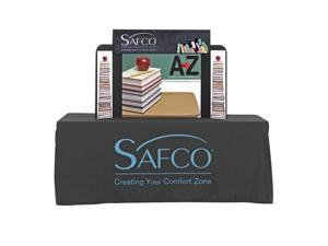 "Safco 2332BL ShoWise® Small Economy Tabletop Exhibit 46 3/4""w x 8""d x 31 1/2""h Black - OEM"