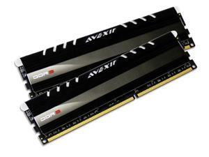 AVEXIR Core Series (White LED) 8GB Kit (2 x 4GB) Dual Channel 240-pin DDR3 SDRAM DDR3 1600 (PC3 12800) Desktop Memory Module ...