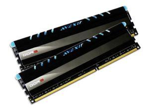 AVEXIR Core Series (Blue LED) 8GB Kit (2 x 4GB) Dual Channel 240-pin DDR3 2800 (PC3 22400) Desktop Memory Module Model AVD3U28001204G-2CI