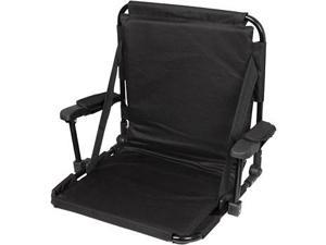 Stadium Chair with Storage Pouch, Carrying Strap, and Arm Padding by Tailgate360