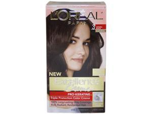 L'Oreal Excellence Creme Triple Protection Color Creme 3 Natural Black