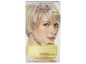 Superior Preference Fade-Defying Color # 9.5A  Lightest Ash Blonde - Cooler by L'Oreal for Unisex - 1 Application Hair Color