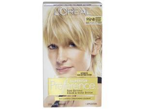 Superior Preference Fade-Defying Color # 9.5 NB Lightest Natural Blonde- Natural by L'Oreal for Unisex - 1 Application Hair ...
