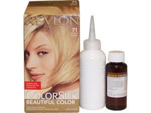 ColorSilk Beautiful Color #71 Golden Blonde by Revlon for Unisex - 1 Application Hair Color