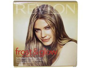 Frost & Glow Honey Highlighting Kit Medium to Dark Brown Hair by Revlon for Unisex - 1 Application Hair Color