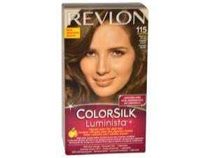 Colorsilk Luminista #115 Medium Brown by Revlon for Women - 1 Application Hair Color