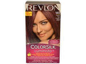 Colorsilk Luminista #145 Burgundy Brown  by Revlon for Women - 1 Application Hair Color