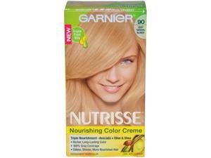 Nutrisse Nourishing Color Creme # 90 Light Natural Blonde by Garnier for Unisex - 1 Application Hair Color