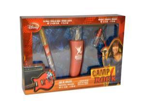 Camp Rock by Disney for Kids - 3 Pc Gift Set 1.7oz EDT Spray, 0.1oz Mini Spray, Lip Gloss