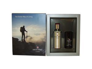 Swiss Army by Swiss Army for Men - 2 Pc Gift Set 3.4oz EDT Spray, 2.5oz Deodorant Stick